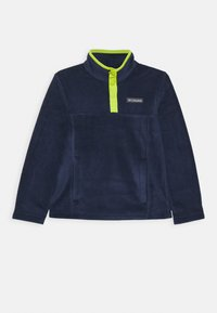 collegiate navy/bright chartreuse