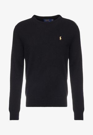 LORYELLE  - Strickpullover - black/gold