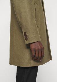 J.LINDEBERG - WOLGER COMPACT MELTON COAT - Classic coat - moss green - 5