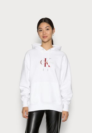 MID SCALE MONOGRAM HOODIE - Sweatshirt - bright white