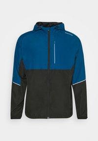 THOROW RUNNING JACKET WITH HOOD - Sports jacket - poseidon