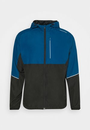 THOROW RUNNING JACKET WITH HOOD - Sports jacket - poseidon