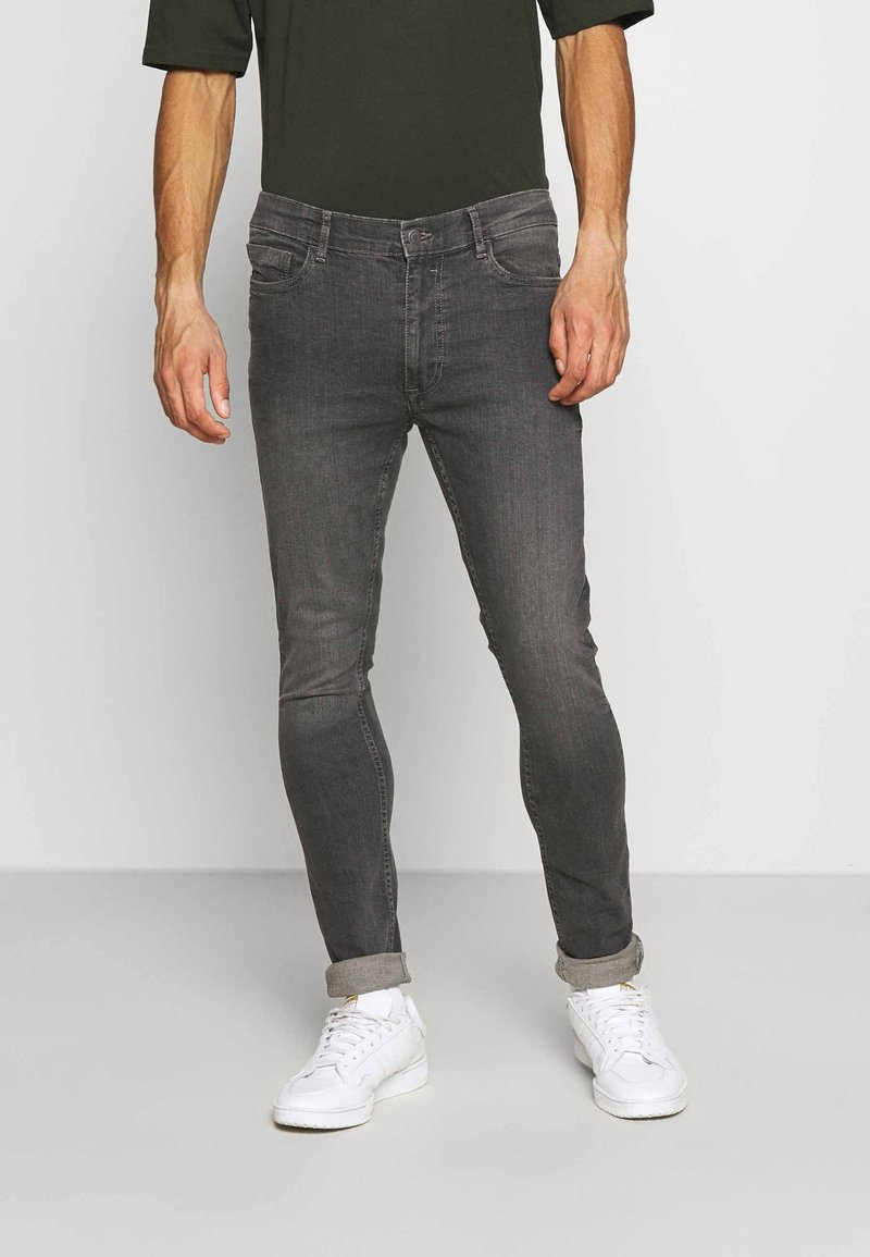 Burton Menswear London - Slim fit jeans - grey