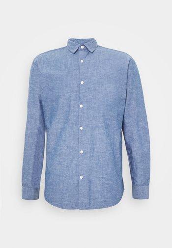 SLHSLIMLINEN - Košile - medium blue denim