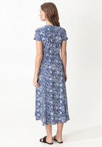 Indiska - EDIT - Denní šaty - blue - 2