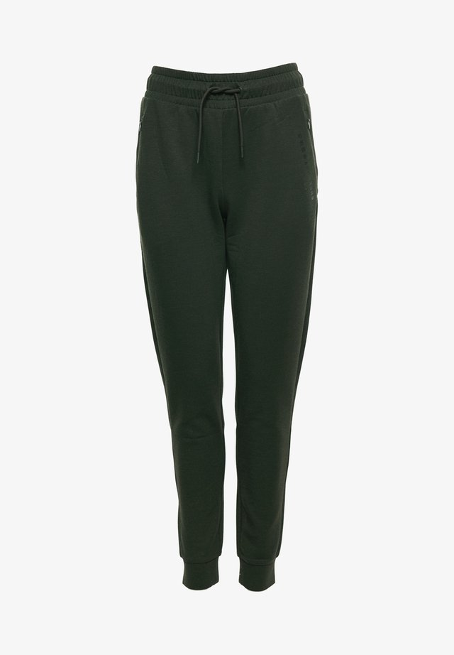Tracksuit bottoms - army khaki