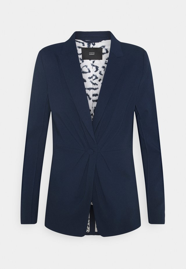 MILAN MODERN DRAPE - Blazer - navy blue