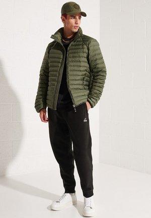 Down jacket - dark moss