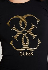 Guess - T-shirt à manches longues - jet black - 4