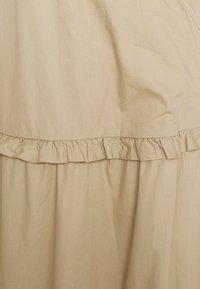 esmé studios - ELLY WRAP AROUND DRESS - Maxi šaty - white peper - 2