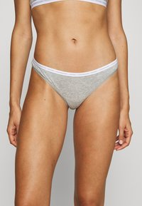 Calvin Klein Underwear - THONG 2 PACK - String - grey heather - 1