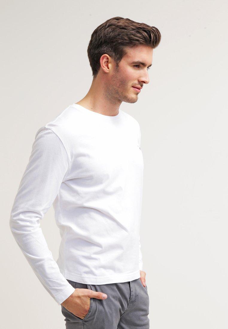 GANT - THE ORIGINAL - Top sdlouhým rukávem - white