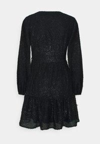 PIECES Tall - PCDWYN WRAP DRESS - Day dress - black - 1