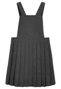 Next - TABARD PINAFORE - Denní šaty - grey - 1