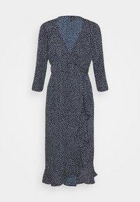 VMHENNA WRAP CALF DRESS - Day dress - navy blazer