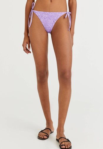 MIT PRINT - Bikini bottoms - purple