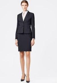 BOSS - VILEA SLIM FIT - Pencil skirt - dark blue - 1