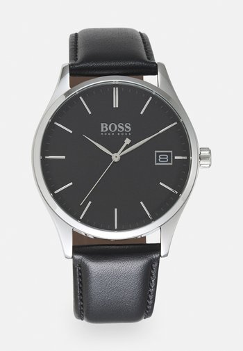 COMMISSIONER UNISEX - Watch - black/black