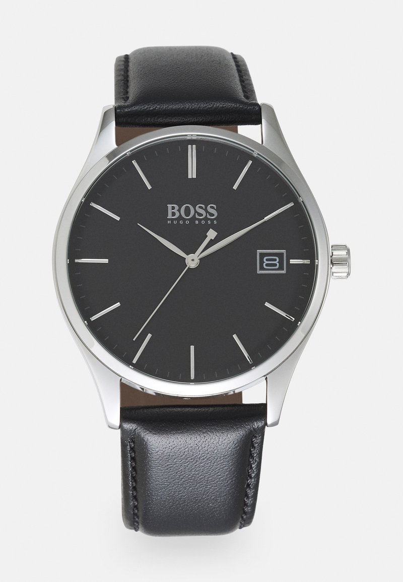BOSS - COMMISSIONER UNISEX - Montre - black/black