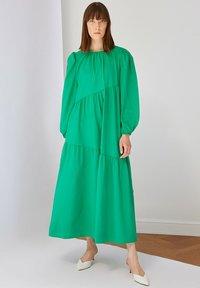 Trendyol - Maxi dress - green - 0