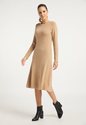 Jumper dress - kamel
