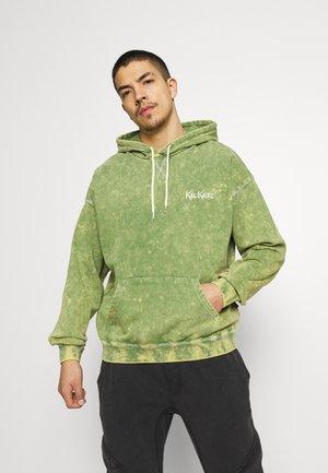 SPLATTER HOODY - Sweatshirt - green