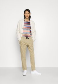 PS Paul Smith - DRAWSTRING TROUSER - Chinos - beige - 1