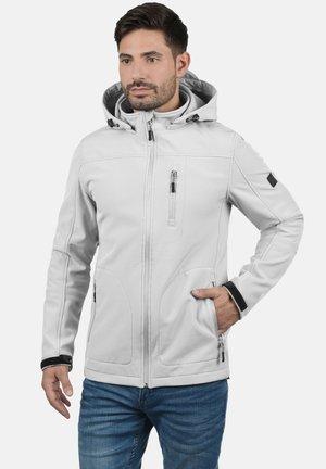SOFTSHELLJACKE DEEGAN - Light jacket - light grey
