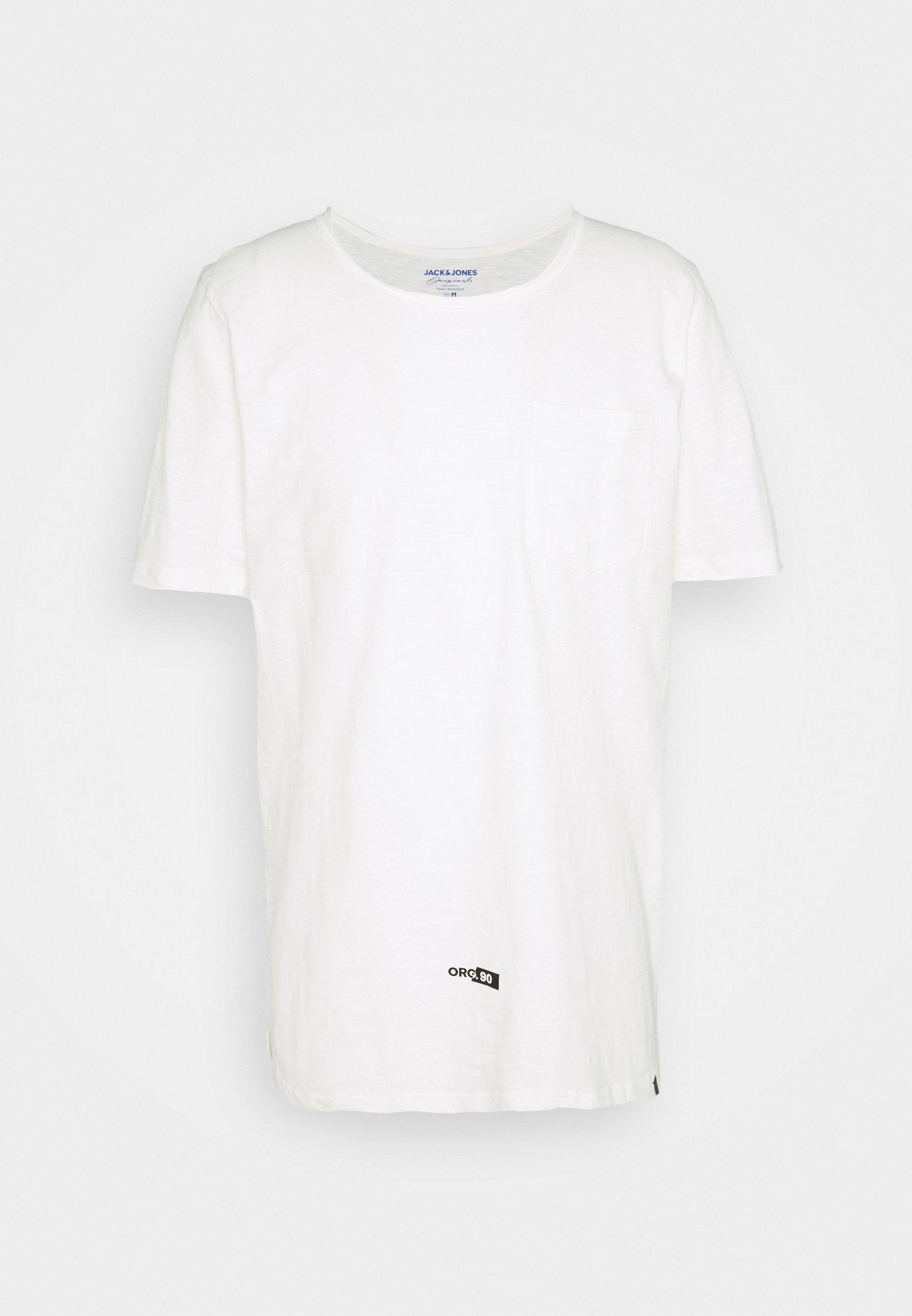 Men JORCONNELL TEE CREW NECK - Basic T-shirt