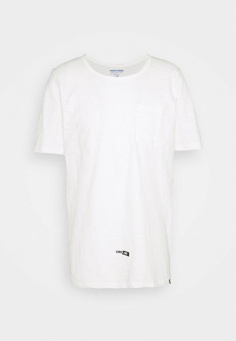 Jack & Jones - JORCONNELL TEE CREW NECK - T-shirt - bas - cloud dancer