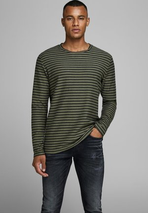 Jumper - dusty olive
