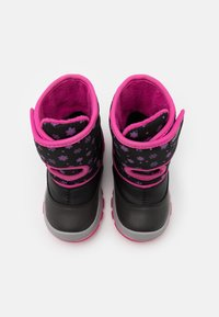 Geox - FLANFIL GIRL WPF - Baby shoes - black - 3