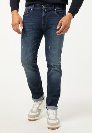 TAPERED FIT FUTUREFLEX LYON - Slim fit jeans - used blue