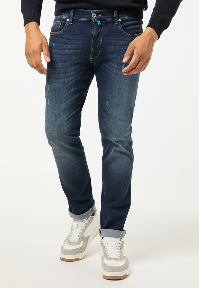 TAPERED FIT FUTUREFLEX LYON - Jeans Slim Fit - used blue