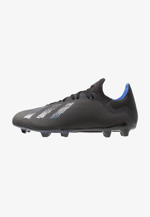 X 18.3 FG - Moulded stud football boots - core black/bold blue