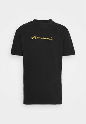 GOLD TEE - Print T-shirt - black