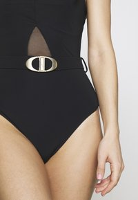 JETS Australia - SQUARE NECK - Swimsuit - black - 4