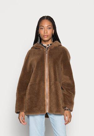 IRIS - Winter jacket - cognac