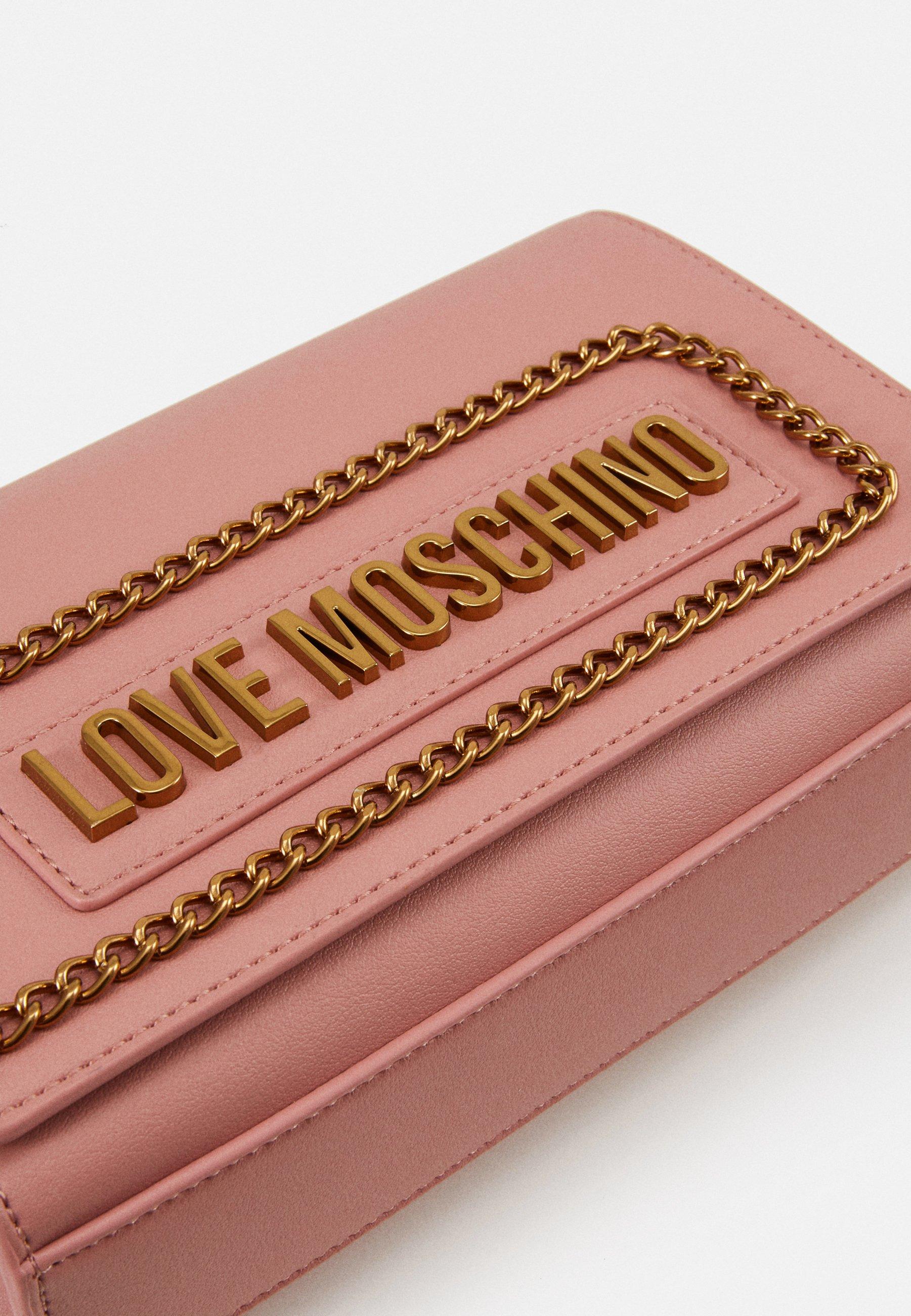 Love Moschino BORSA - Skulderveske - rosa/lyserosa WsI7nzswZEysmLu