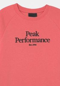 Peak Performance - ORIGINAL CREW UNISEX - Mikina - alpine flower - 2