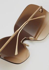 Jimmy Choo - ZELMA - Sluneční brýle - gold-coloured - 3