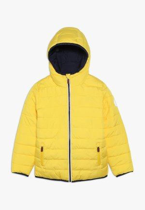 REVERSIBLE FUJI - Winter jacket - yellow/downhill navy