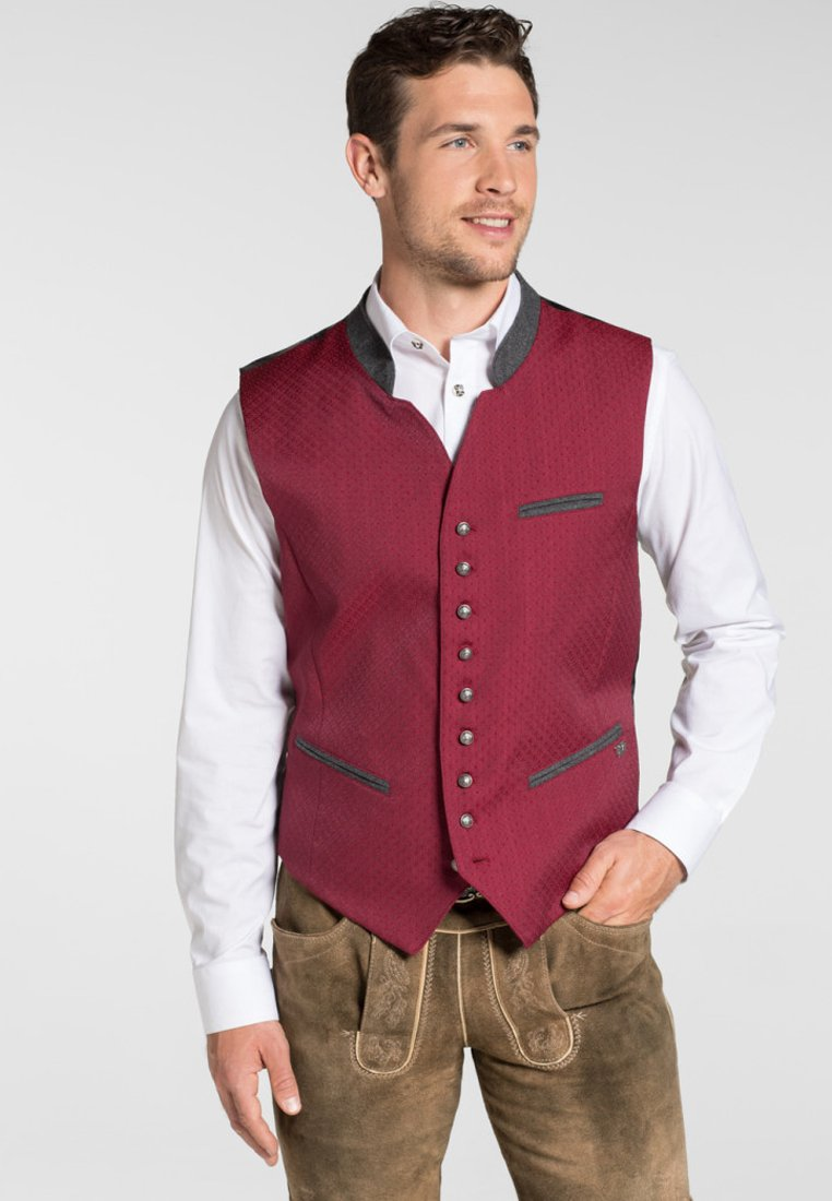 Spieth & Wensky - MAXDORF - Waistcoat - red