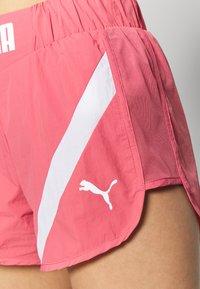 Puma - STUDIO CLASH ACTIVE SHORTS - Sports shorts - rapture rose - 5