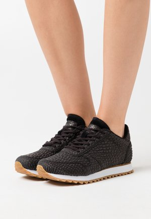 YDUN CROCO II - Sneakers basse - black