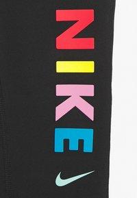Nike Performance - Legging - black/white/track red - 3
