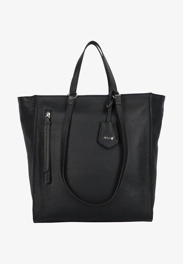 JUNA  - Shopping bag - black/nickel