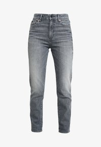 G-Star - 3301 HIGH STRAIGHT 90S - Jeans straight leg - faded pebble grey - 4