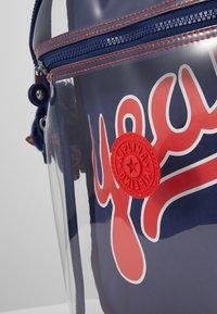 Kipling - SEOUL GO - School bag - polish blu/transparent - 2