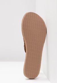 Rip Curl - RIVIERA MAYA - T-bar sandals - chestnut - 6